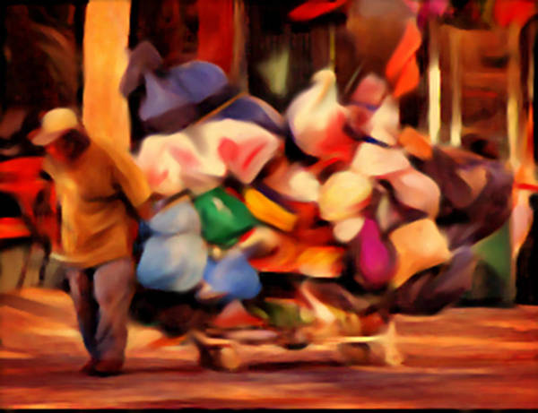 Painting - The Hoarder by Dennis Buckman