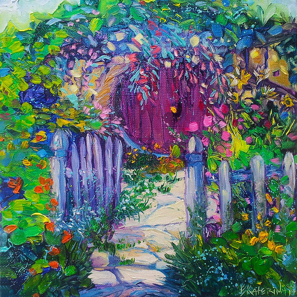 Painting - The Hobbit House by Ekaterina Chernova
