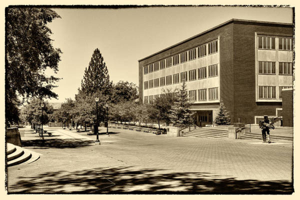 Photograph - The Holland Library On The Washington State University Campus by David Patterson