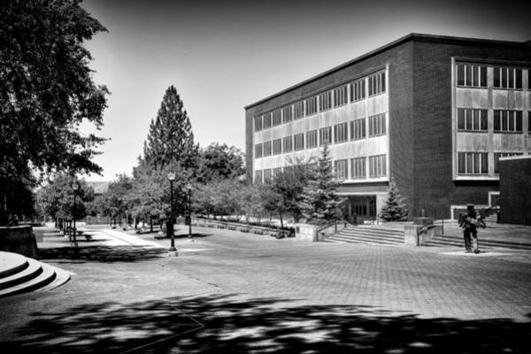 Photograph - The Holland Library - Pullman Washington by David Patterson