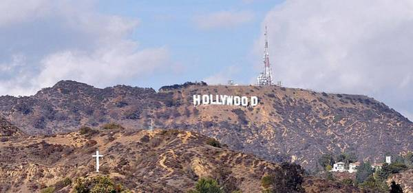 Photograph - The Hollywood Hills by Joanne Brown