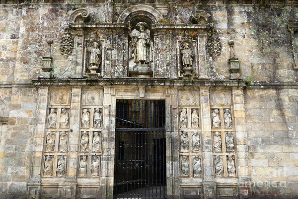 Galicia Photograph - The Holy Door by James Brunker