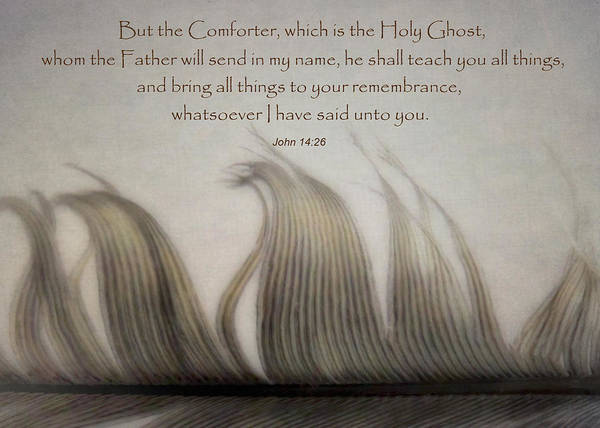 Holy Ghost Photograph - The Holy Spirit by David and Carol Kelly