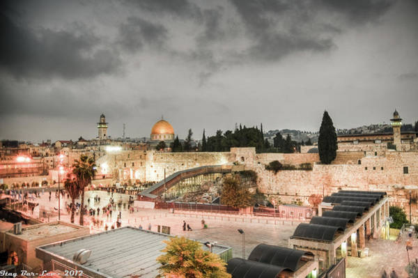 Jerusalem Photograph - The Holy, The Dark And The Beautiful by Itay Bar-lev