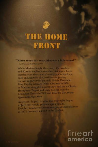 Photograph - The Home Front 1950 by Carol Lynn Coronios