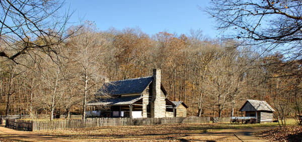 Photograph - The Homeplace - Main House by Sandy Keeton