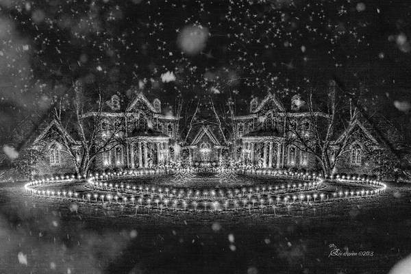 Photograph - The Homestead On A Winter's Eve - Featured In Comfortable Art Group by Ericamaxine Price