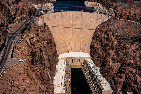 Photograph - The Hoover Dam by Onyonet  Photo Studios