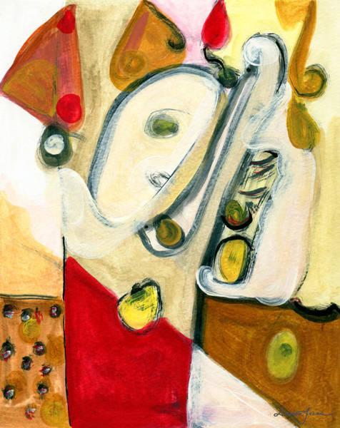 The Horn Player Art Print