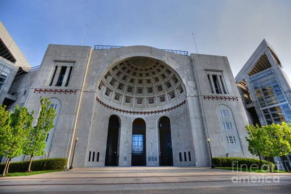 Ohio State University Photograph - The Horseshoe by David Bearden