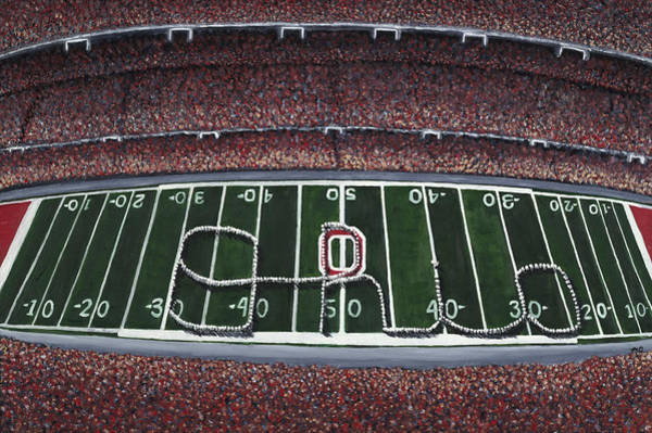 Marching Painting - The Horseshoe by Meghan Coyle
