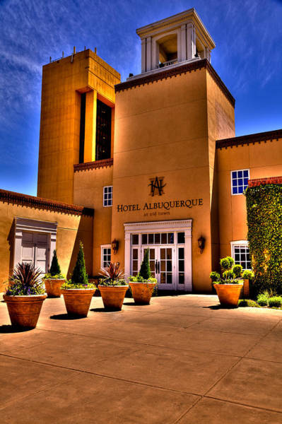 Wall Art - Photograph - The Hotel Albuquerque by David Patterson