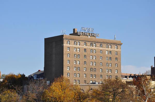 Photograph - The Hotel Bethlehem - Bethlehem Pa by Bill Cannon