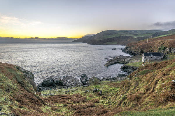 Konica Wall Art - Photograph - The House In Torr Head Northern Ireland by Giuseppe Milo