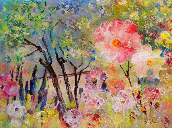 Painting - The House Of The Rising Flowers by Miki De Goodaboom