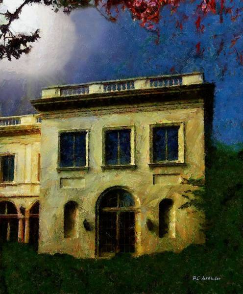 Painting - The House On The Hill by RC DeWinter