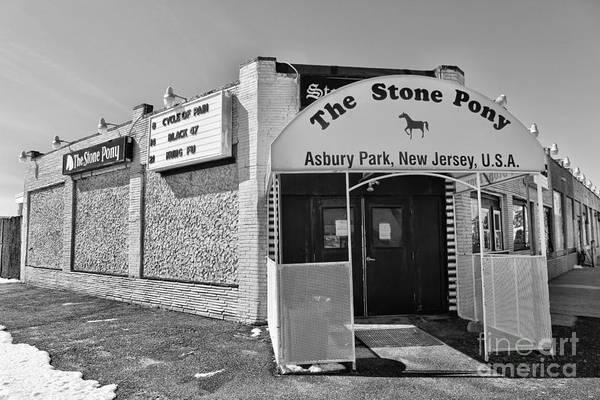 The House That Bruce Built - The Stone Pony Art Print by Lee Dos Santos