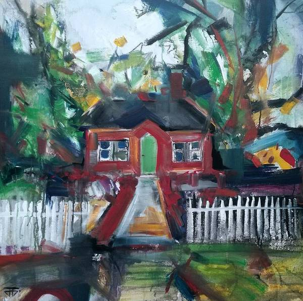 Painting - The House That Was by John Jr Gholson