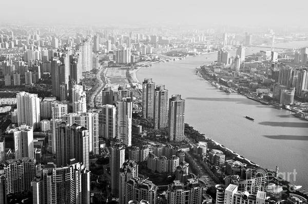 Wall Art - Photograph - The Huangpu River by Delphimages Photo Creations