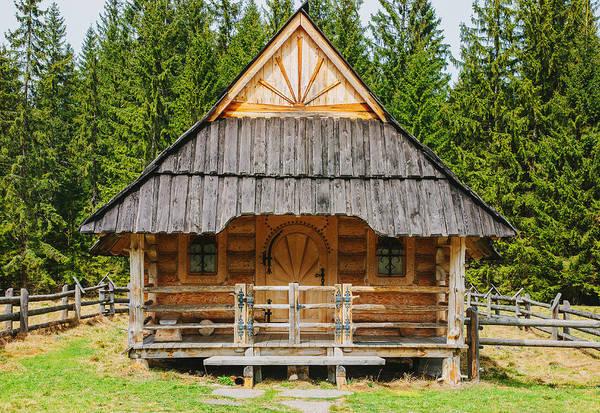 High Tatras Wall Art - Photograph - The Hut by Pati Photography