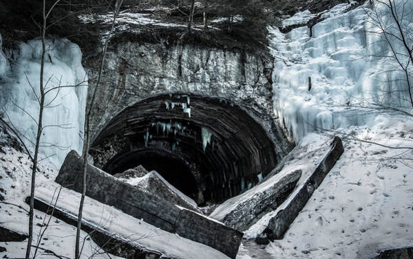 Clarion Photograph - The Ice Tunnel by Anthony Thomas