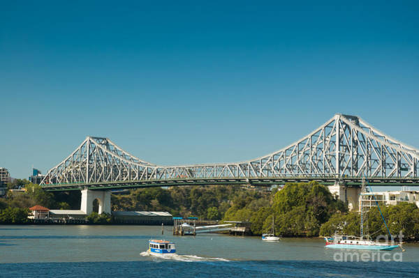 Photograph - The Icon Of Brisbane - Story Bridge by David Hill
