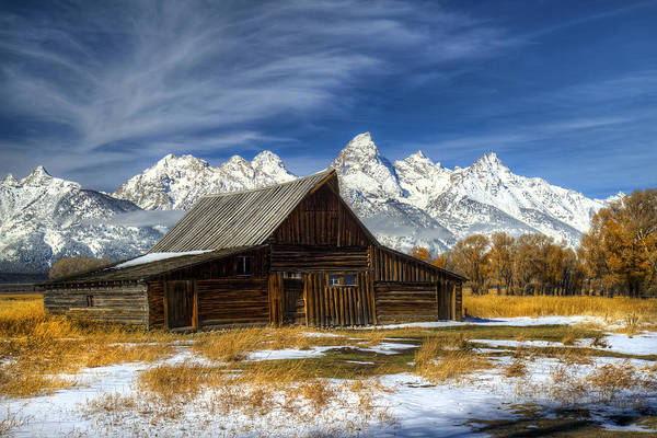 Photograph - The Iconic Barn In Grand Teton National Park by Pierre Leclerc Photography