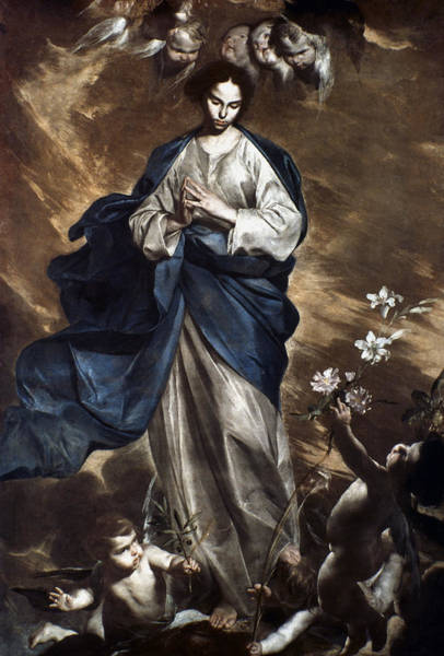 Painting - The Immaculate Conception by Granger