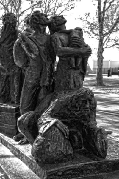 Battery D Wall Art - Photograph - The Immigrant's Statue In New York City by Dan Sproul