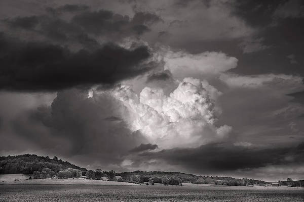 High Dynamic Range Digital Art - The Impending Storm by William Fields