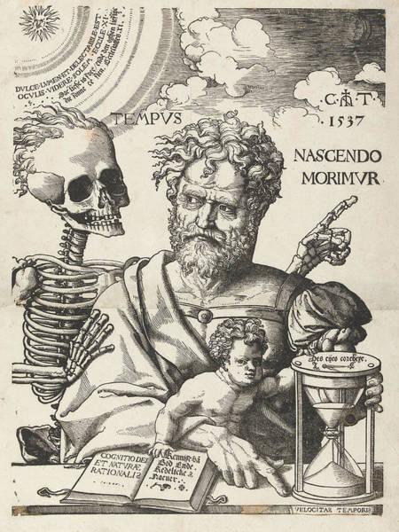 The Impermanence, Cornelis Anthonisz Art Print