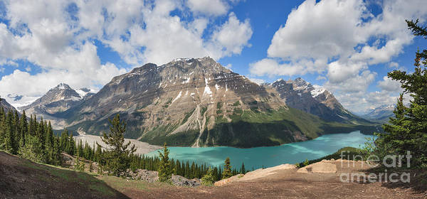 Photograph - The Incomparable Peyto Lake by Charles Kozierok