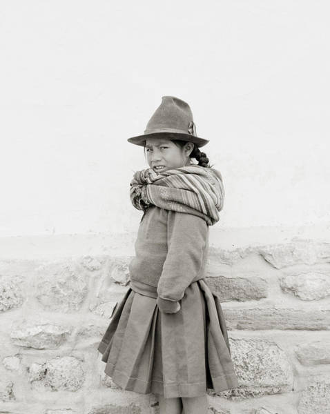 Photograph - The Indian Girl by Shaun Higson