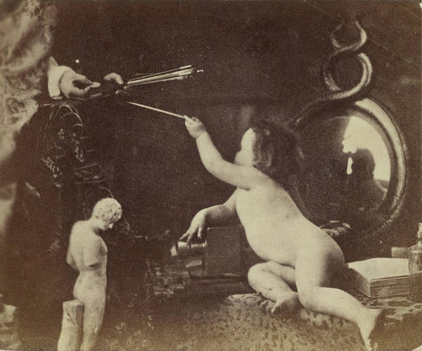 The Infant Photography Giving The Painter An Additional Art Print by Litz Collection