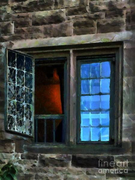 Painting - The Inferno Inside by RC DeWinter