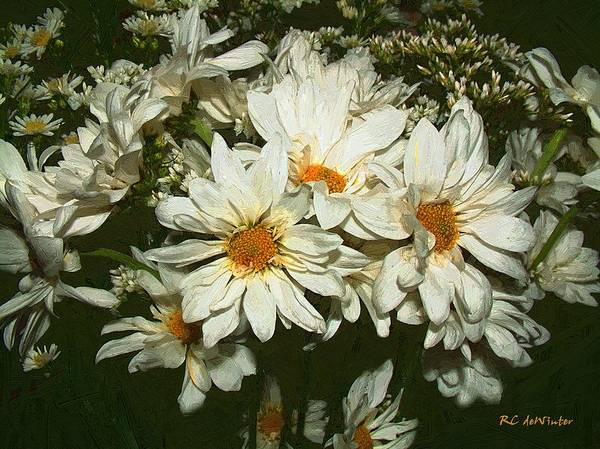 Painting - The Infinite Shades Of White by RC DeWinter