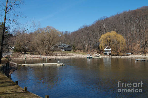 Photograph - The  Inlet by William Norton