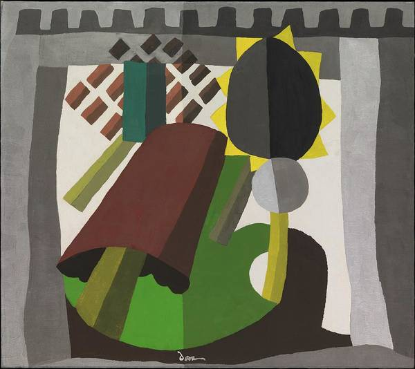 Central America Painting - The Inn by Arthur Dove