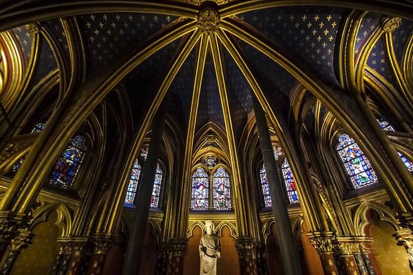Chapelle Photograph - the inner beauty of Sainte Chapelle by Sven Brogren