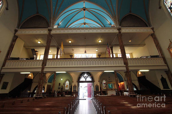 Photograph - The Inside Rear Of The Church Of St Veronica by Steven Spak