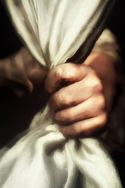 Hand Made Painting - The Intruder by Georgiana Romanovna