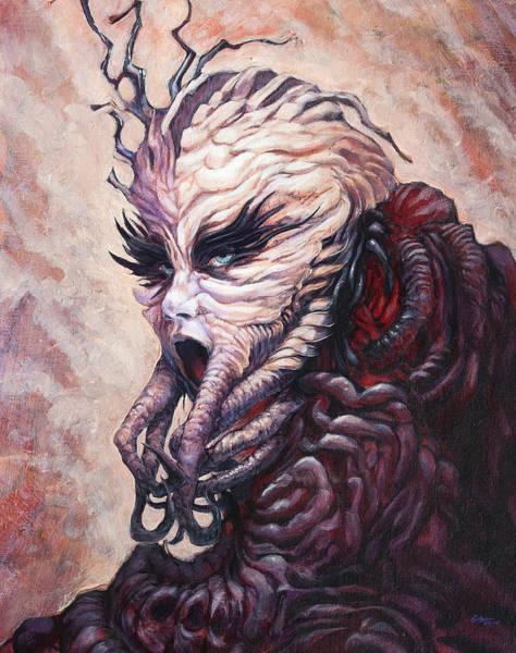 Sea Creature Painting - The Invigorator  by Ethan Harris