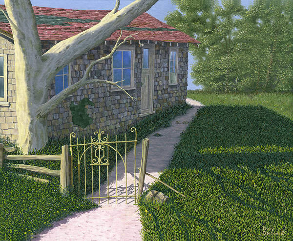 Painting - The Iron Gate by Gary Giacomelli