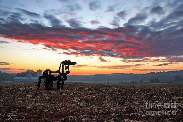 Photograph - The Iron Horse Early Dawn The Iron Horse Collection Art by Reid Callaway