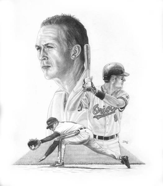 Oriole Drawing - The Iron Man by JWB Art Unlimited