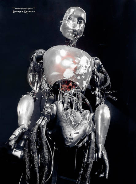 Photograph - The Iron Robot by Stwayne Keubrick
