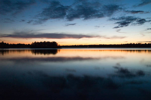 Photograph - The Islands At Dusk On Black Lake Near Perth Ontario by Rob Huntley