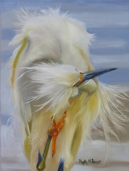 Wall Art - Painting - The Itch by Phyllis Beiser