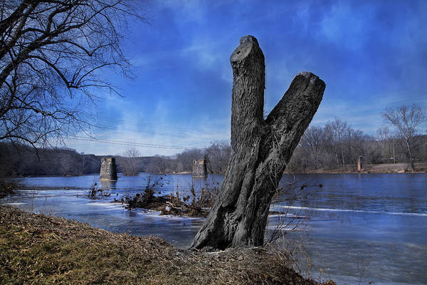 Trestle Photograph - The James River One by Betsy Knapp