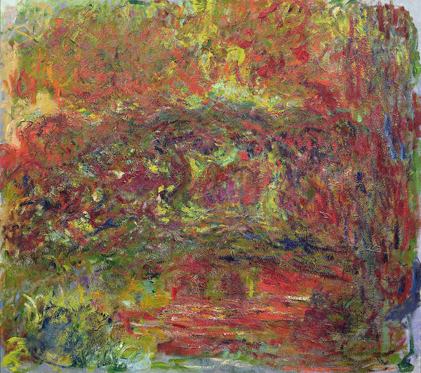 Giverny Photograph - The Japanese Bridge, 1918-24 See Detail 414403 Oil On Canvas by Claude Monet